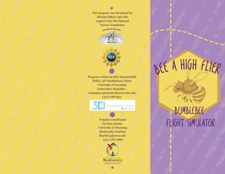 Bee Game brochure
