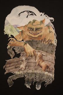 The Three Billy Goats Gruff. A Norweigan folktale.