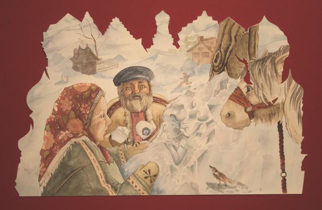 The Snow Maiden. A Russian folktale.