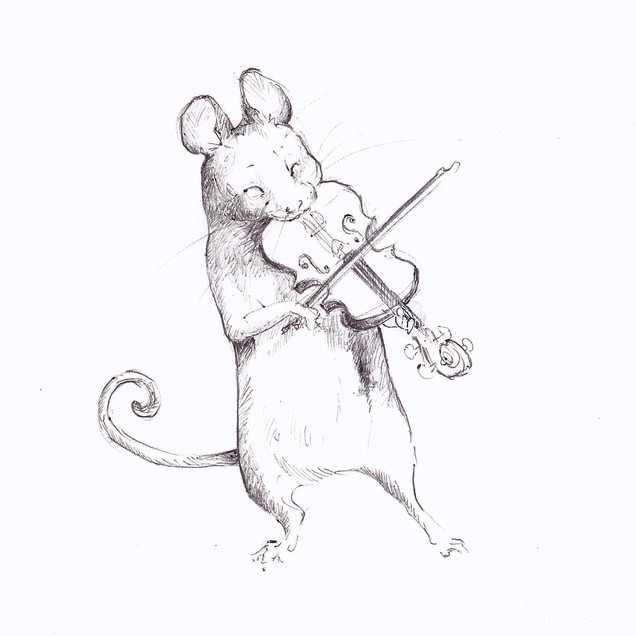 Fiddling Mouse