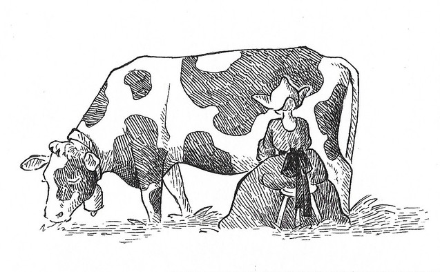 The Milk Maiden and Her Pail - An Aesop's Fable