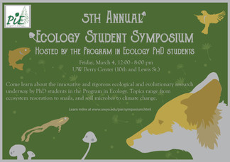 Ecology Symposium poster
