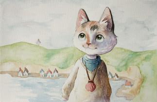 Wisdom Cat