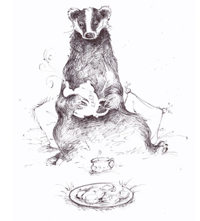 Tea With Badger