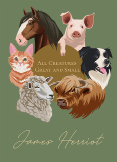 All Creatures Great and Small book cover