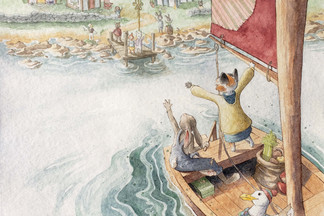 The Voyage of Wisdom Cat