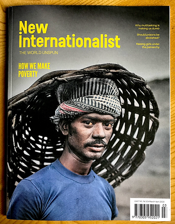 New Internationalist FRont Cover.HEIC