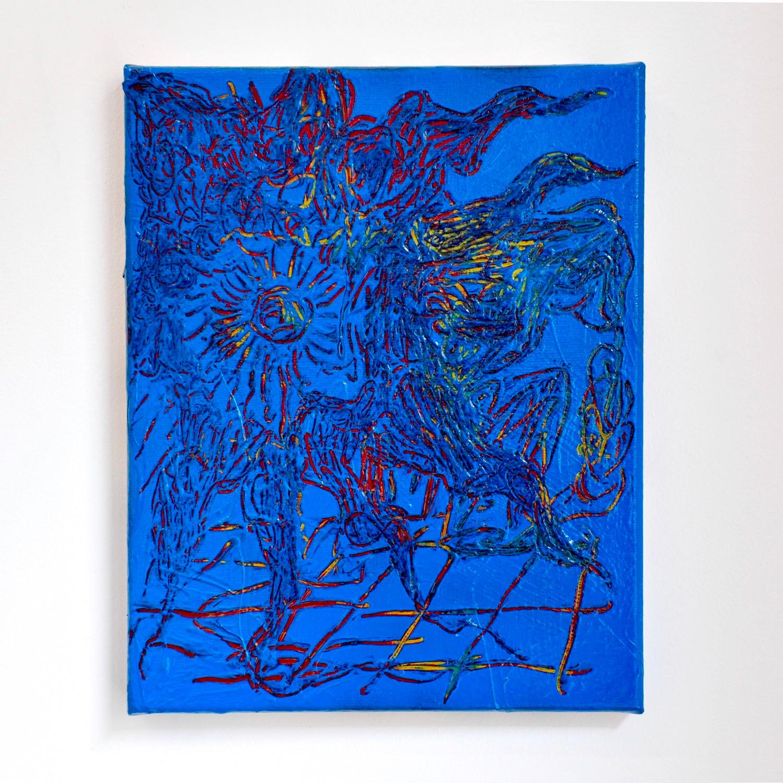 O.T. / 2019 / 30x24cm / Acrylic on canvas
