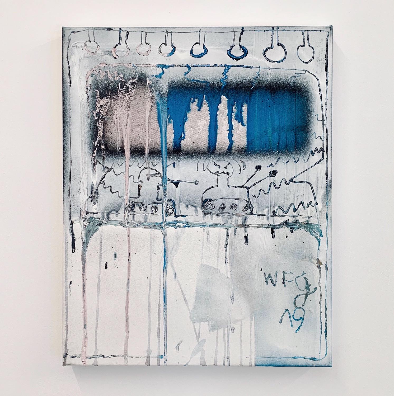 CHAZE / 2019 / 50x40cm / Acrylic on canvas