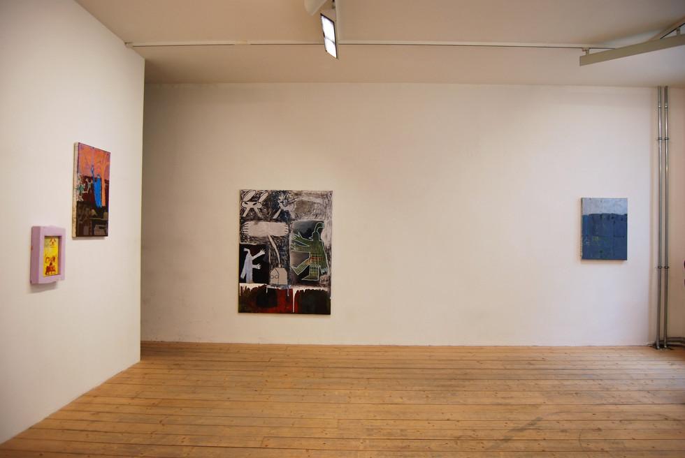 Magische Dystopie / mit Sophia Leitenmayer, Conrad Hübbe / MOM ART SPACE / Hamburg 2019 / Kuratiert von Jessica Herden, Pascal Brinkmann
