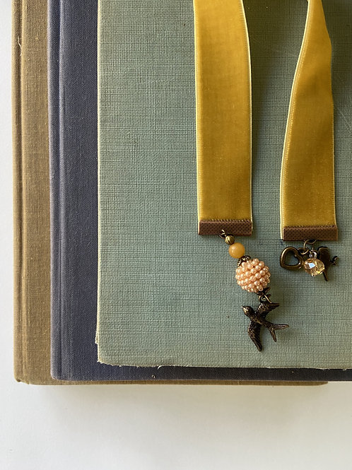 Ribbon Bookmark by Whimsy & Whatnots