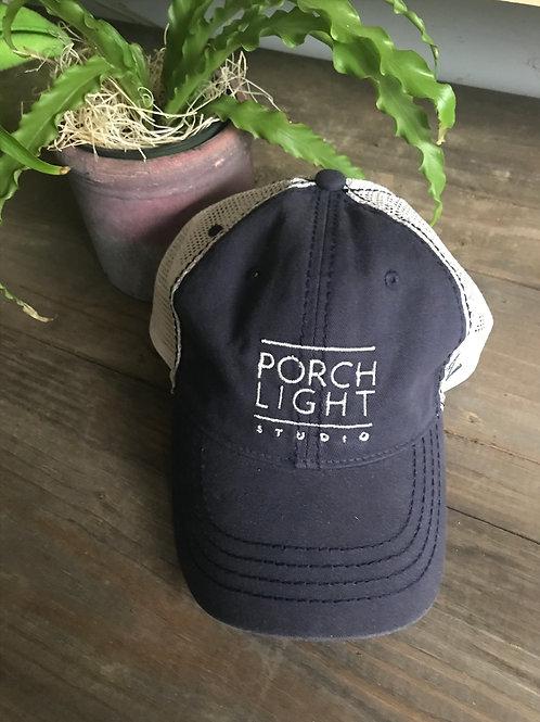 Faded Navy Trucker Hat