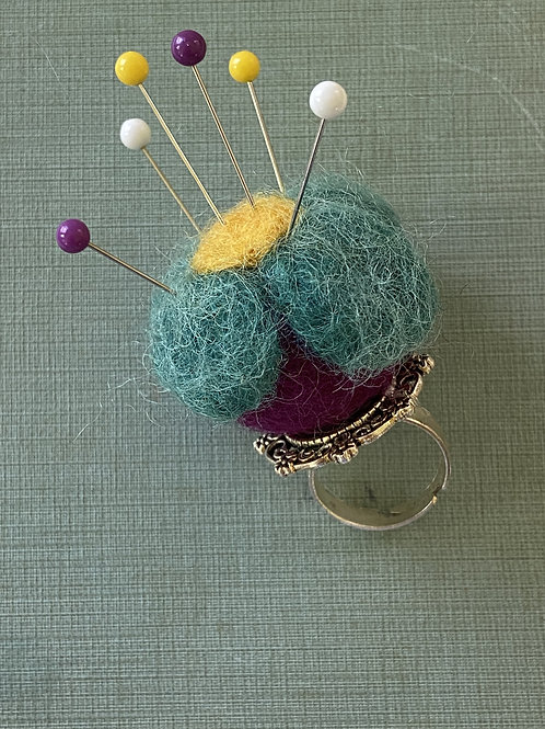 Pin Cushion Ring by Whimsy & Whatnots