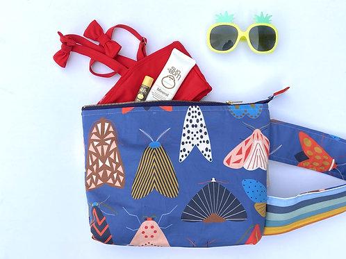 Large Kate Bag // wipeable lining & handle