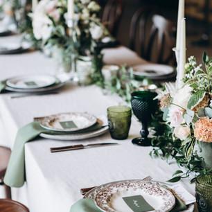 Ustawienie stołu weselnego