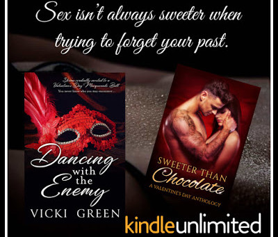Dancing With The Enemy by Vicki Green ~Sweeter Than Chocolate: Valentine's Day Anthology Author Spot