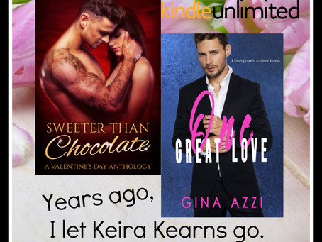 One Great Love by Gina Azzi ~Sweeter Than Chocolate: Valentine's Day Anthology Author Spotlight Inte