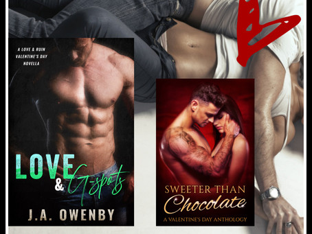 Love & G-Spots by J.A. Owenby ~Sweeter Than Chocolate: Valentine's Day Anthology Author Spotlight In