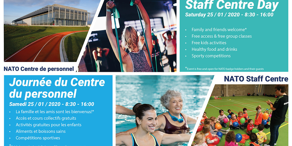 STAFF CENTRE DAY Saturday, 25th of January
