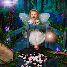 Fairy with wings