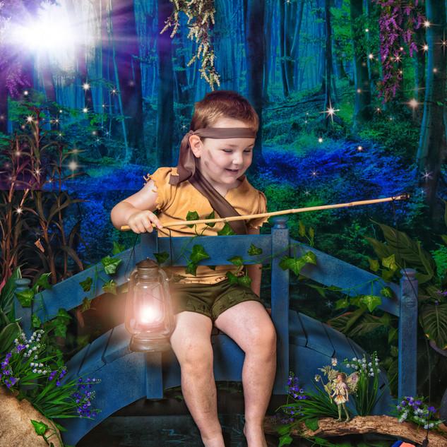 Little boy elf at Eyeconic