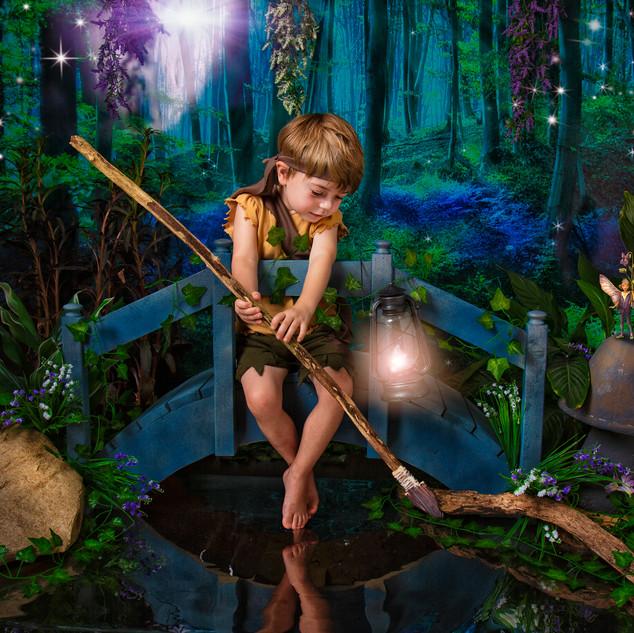 Little boy elf