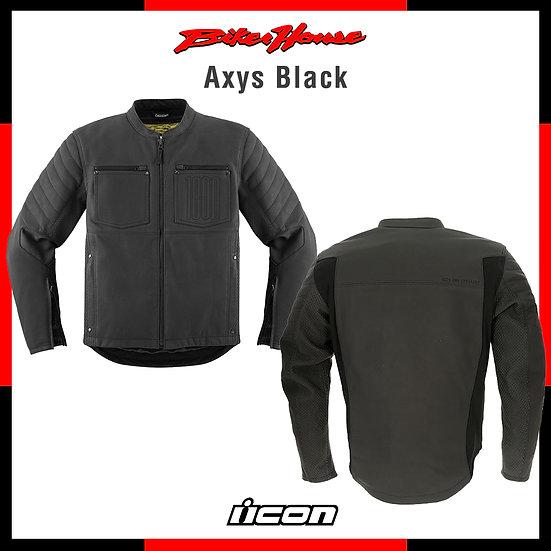 Casaca Icon Axys Black