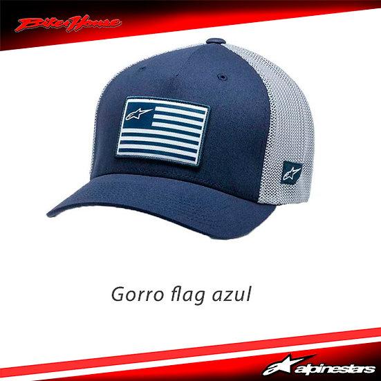 Gorro Alpinestars Flag Azul