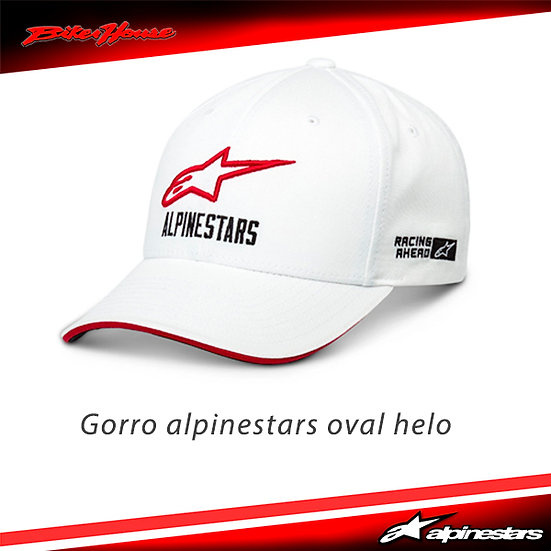 Gorro Alpinestars Oval Helo Blanco