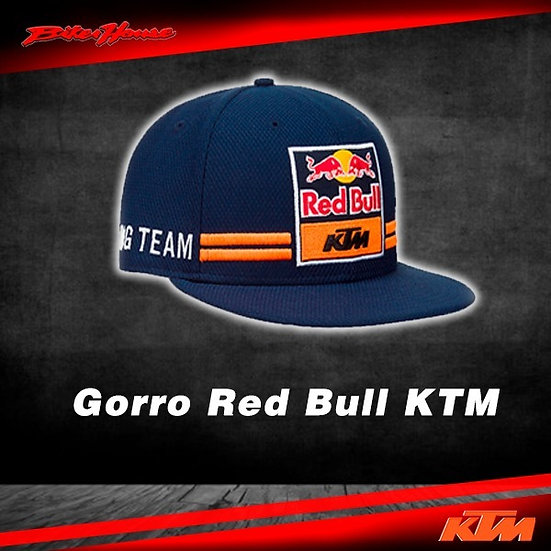 Gorro Team KTM Red Bull Azul/Anaranjado