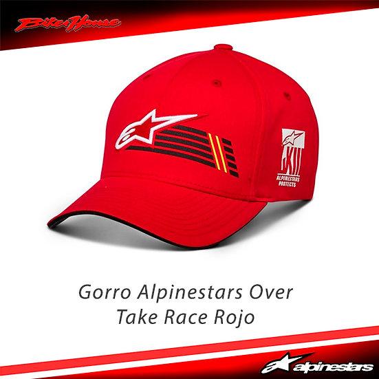 Gorro Alpinestars Overtake Race Rojo