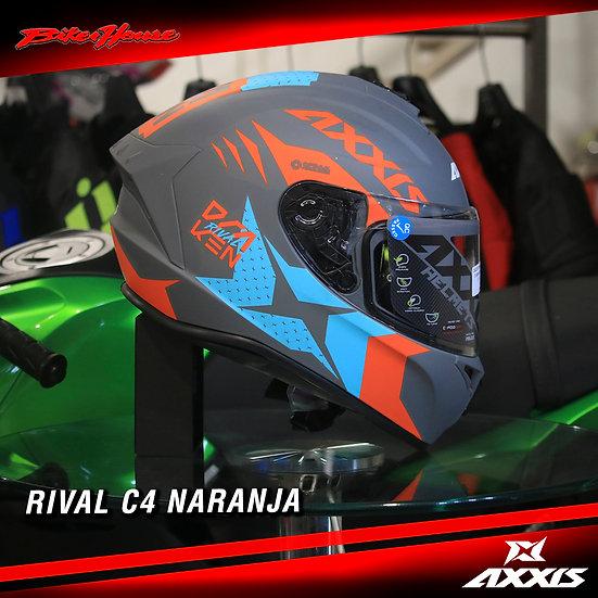 Axxis Rival C4 naranja
