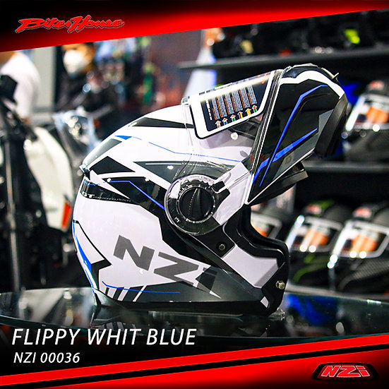 CASCO NZI FLIPPY VITESSE WHITE-BLUE