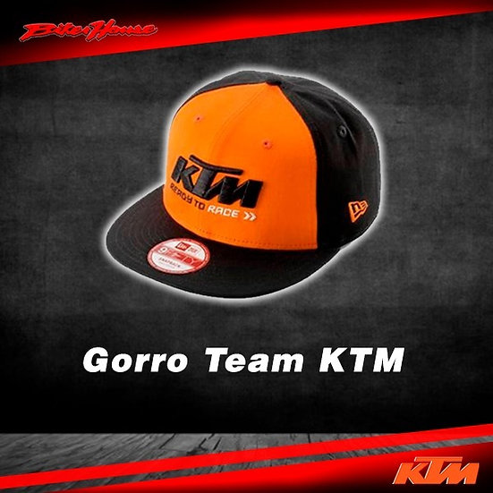 Gorro Team KTM Negro/Anaranjado