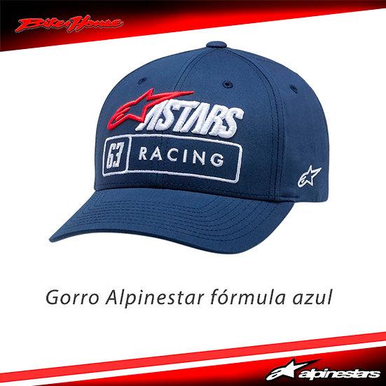 Gorro Alpinestars Fórmula Azul