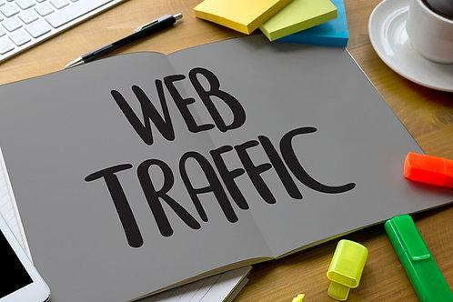 Get UK web traffic for 30 days