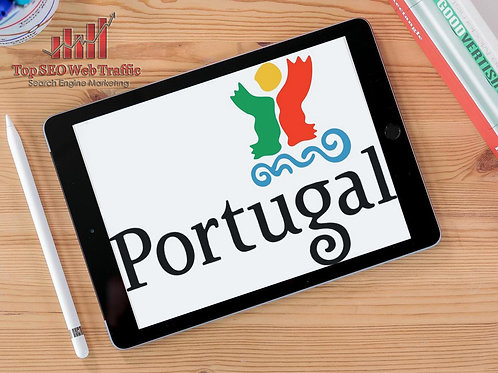 Get PORTUGAL Keyword Web Traffic With Low Bounce Rate For 30 Days