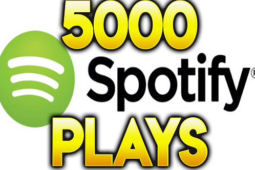 I Will Provide 5,000 Spotify Plays