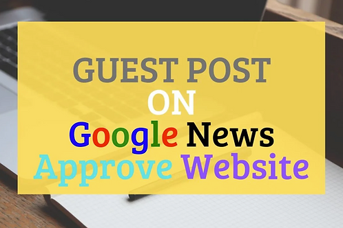 Write & publish 1 Article on DR70 GOOGLE NEWS