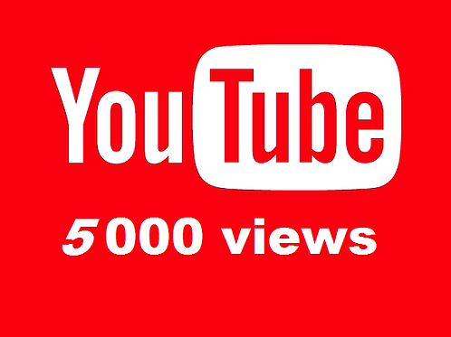 Provide 5,000 High Quality YouTube Views