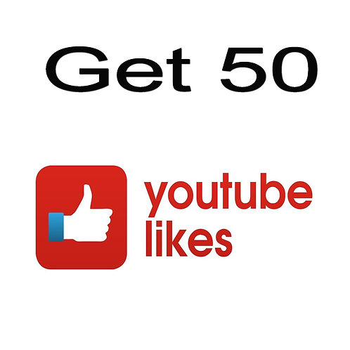 Buy 50 High Quality YouTube Likes