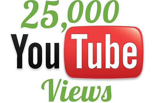 Buy 25,000 Hight Quality Youtube Views
