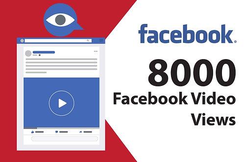 Get 8,000+ Facebook Video Views