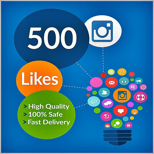 500 Instagram Likes Split in 10 URL's