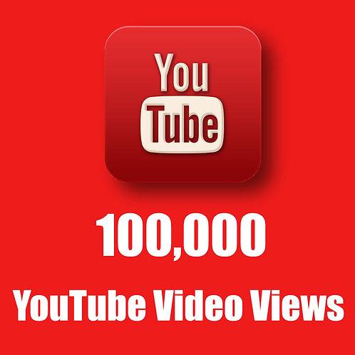 100,000 Hight Quality Youtube Views