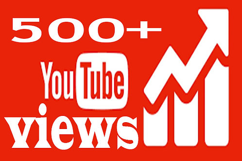 I Will Provide 500 YouTube Views & 3 comments