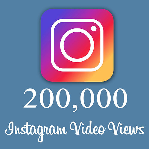 Get 200,000 Instagram Video Views