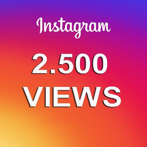 Compra 2500 reproducciones de videos en Instagram