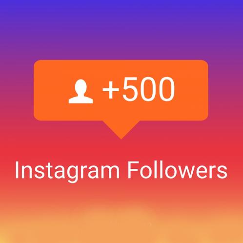 Provide 500 High Quality Instagram Followers