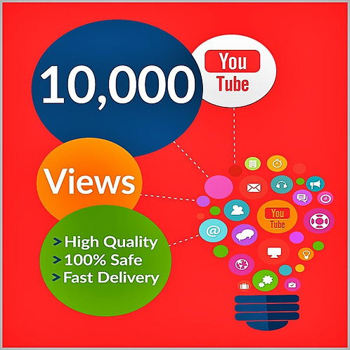 10,000 Hight Quality Youtube Views